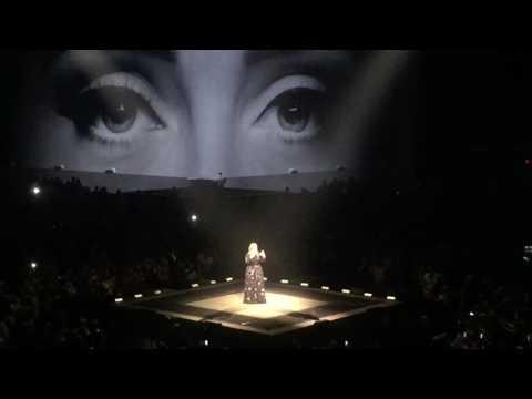 Adele Concert Opening Houston