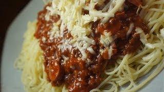 Paano magluto Spaghetti Pinoy Style Recipe - Tagalog Filipino Pasta