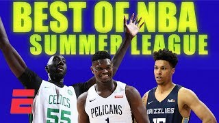 Zion, Tacko Fall and the BEST plays of NBA Summer League | NBA Mixtape