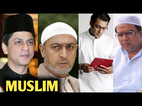 Top 40 Bollywood Muslim Actors | You Won't Believe