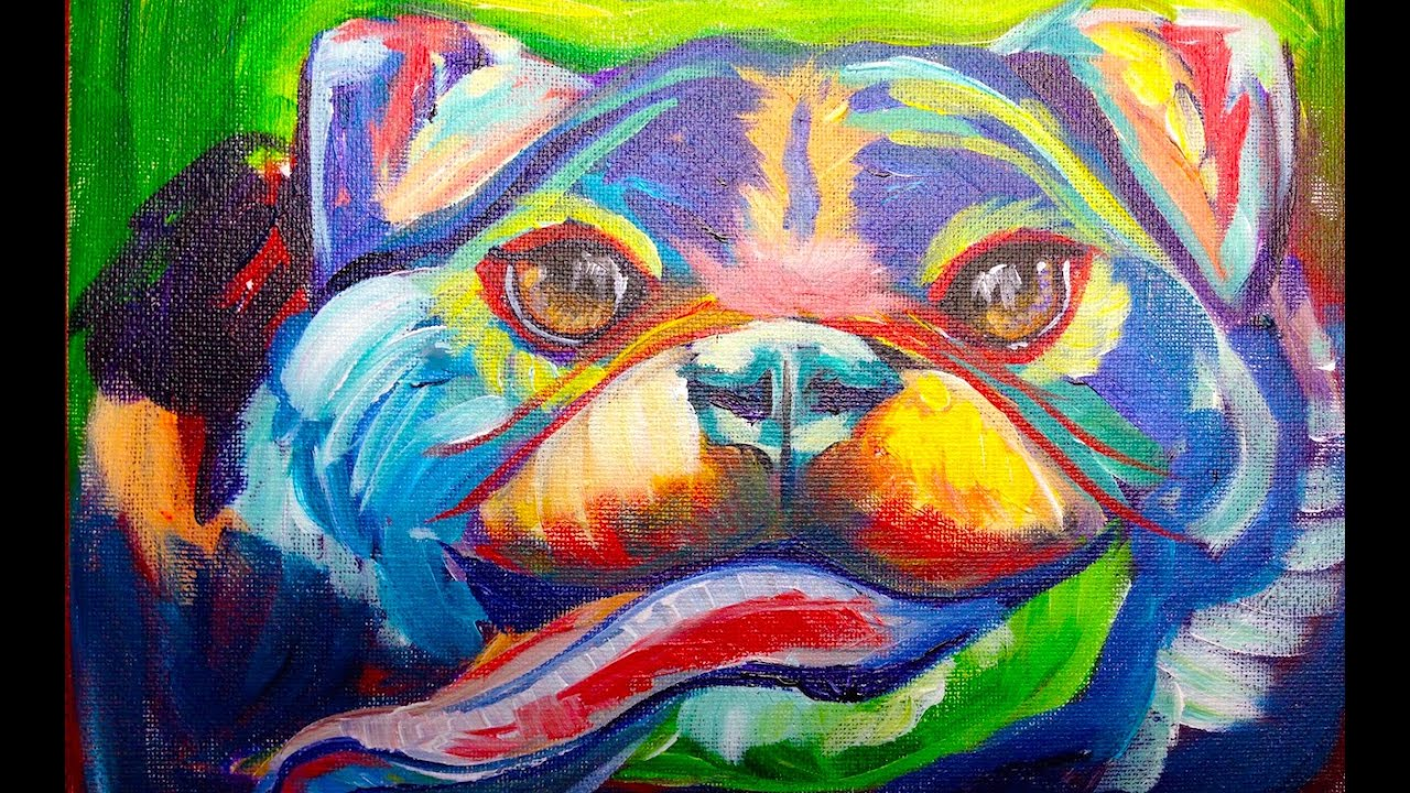 Best Abstract Acrylic Paintings For Beginners Winnie S Picks