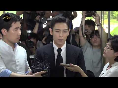 {ENGSUB} 170629 BIGBANG's TOP talks to the media before first court hearing
