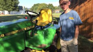 Deere Time - Steering Cylinder Grease Fitting