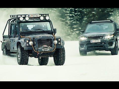 Land Rover James Bond Spectre Trailer Cars Chase Range  CARJAM TV HD 2016