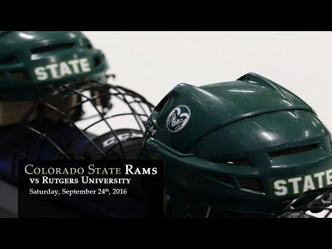 CSU Rams Hockey vs Rutgers University - Sept 24, 2016
