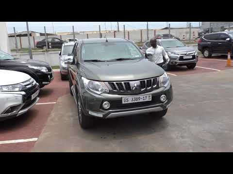 Buying A New Mitsubishi L200 @ CFAO In Ghana, Earth Green