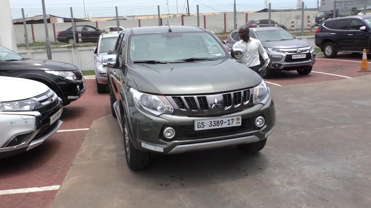 Buying A New Mitsubishi L200 Cfao In Ghana Earth Green Youtube
