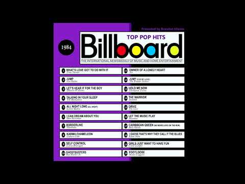 Billboard Top Pop Hits  1984
