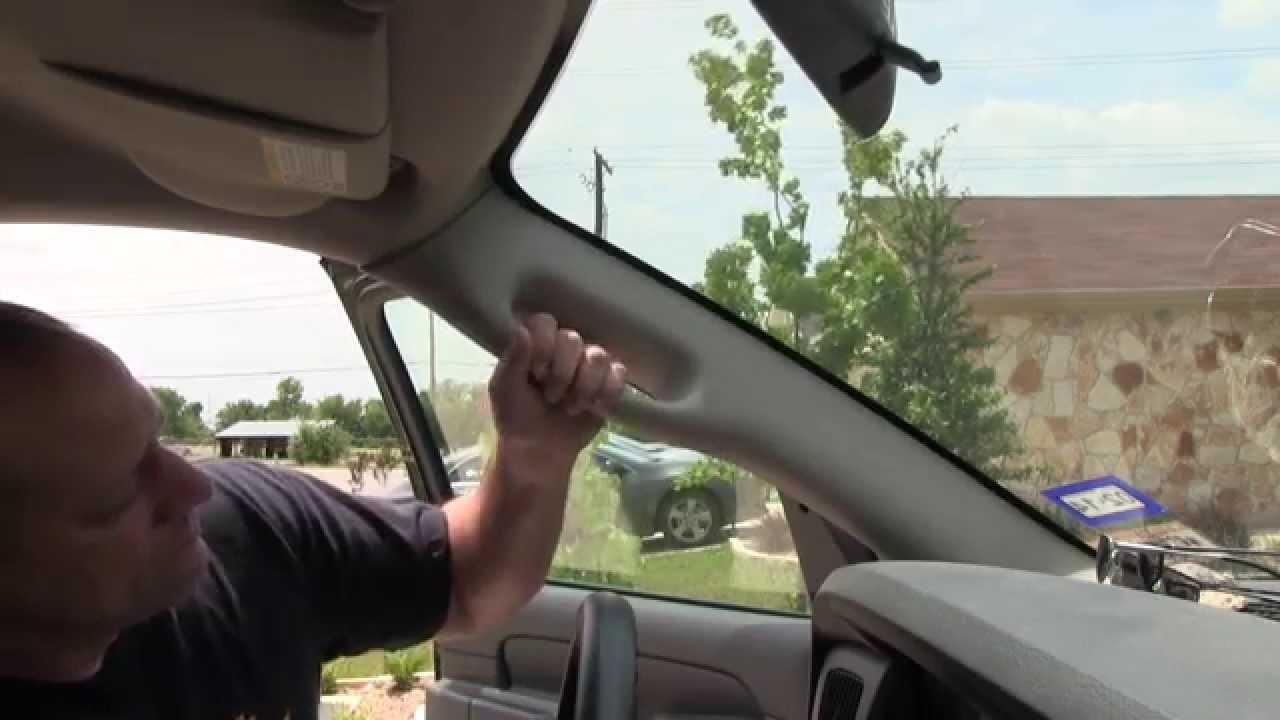 f02a7fa8c99 Dodge Truck Grab Handle Repair - YouTube
