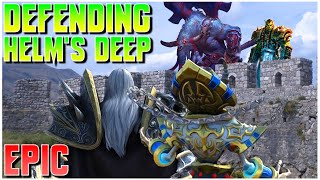 Grubby   WC3   [EPIC] Defeฑding Helm's Deep!