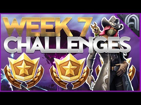 How To Unlock Hunting Party Skin! Fortnite Season 6 Week 7 Challenges Guide! Battle Pass Challenges!