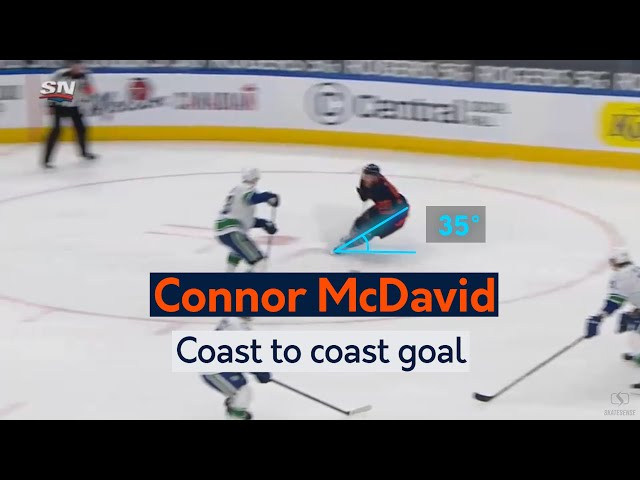 Connor McDavid | Coast to coast goal vs Vancouver Canuks