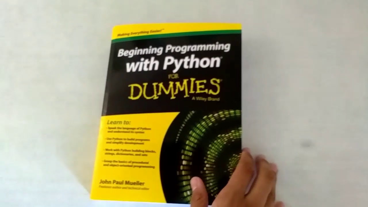Book Review Beginning Programming For Dummies Youtube