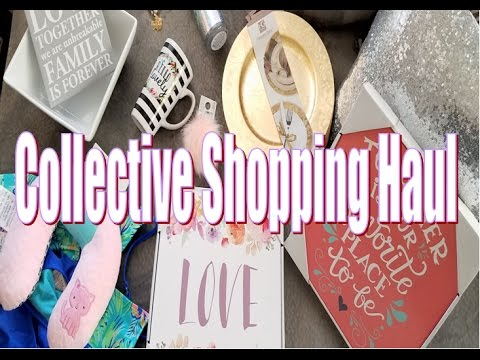 Collective Home Decor Haul Dollar Tree and Walmart April 2017