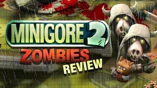 Minigore 2: Zombies - OUYA Game Review
