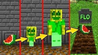 CHAOSFLO LEBENSZYKLUS in Minecraft - [Geburt als Melone, Boss Fight]