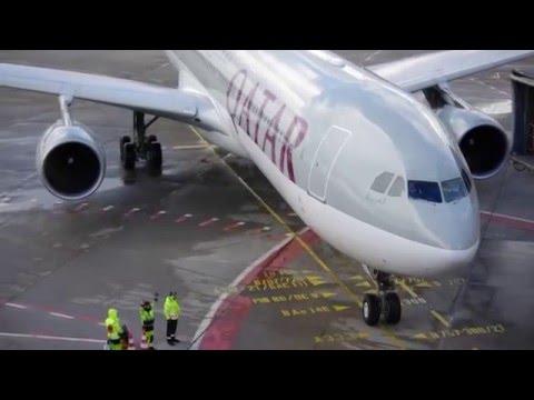 Qatar Airways | Airbus A330-302 [A7-AEI] | Parking at Gate A1 Berlin-Tegel (TXL/EDDT)