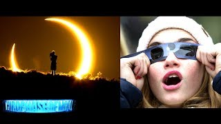 Its Happening! The Mystery Behind The Solar Eclipse! Upload your So...