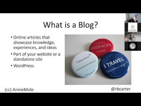 Getting Clients Through Blogging [LHLM Webinar]