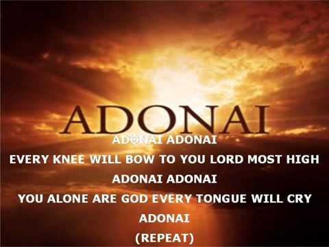 Adonai - Paul Wilbur