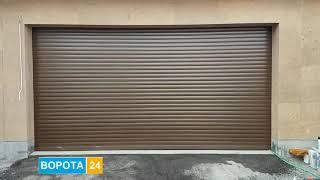 Роллетные ворота на гараж Днепр -VOROTA24.COM.UA