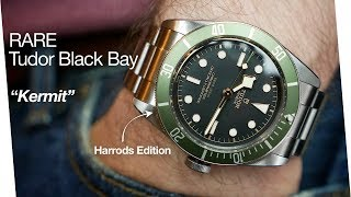 This Tudor is more rare than a Submariner - Black Bay Harrods Limited Edition