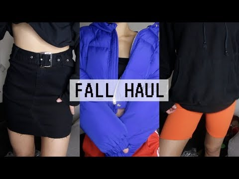 FALL TRY ON HAUL & ANNOUNCEMENT!! | Mel Joy