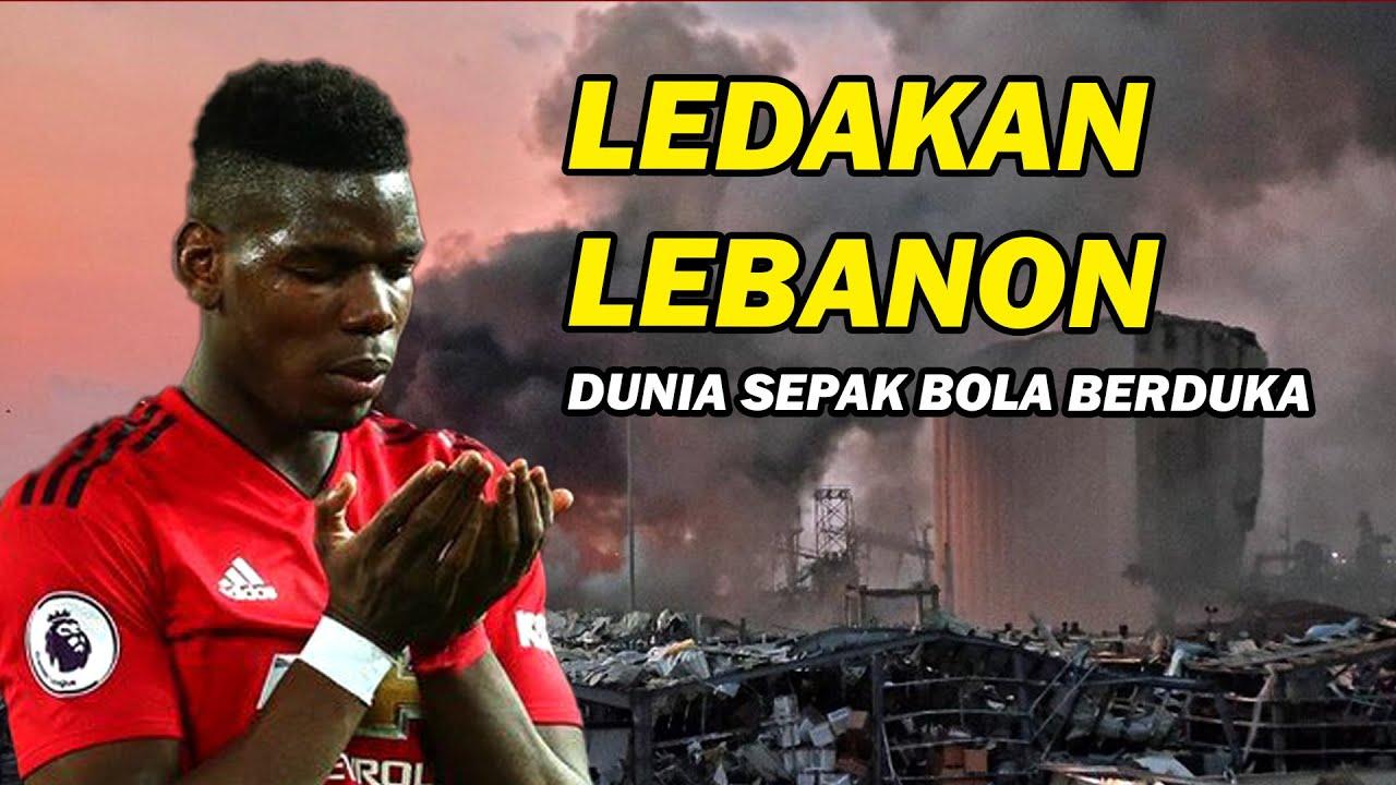 Ledakan di Lebanon, Dunia SepakbolaTurut Berduka