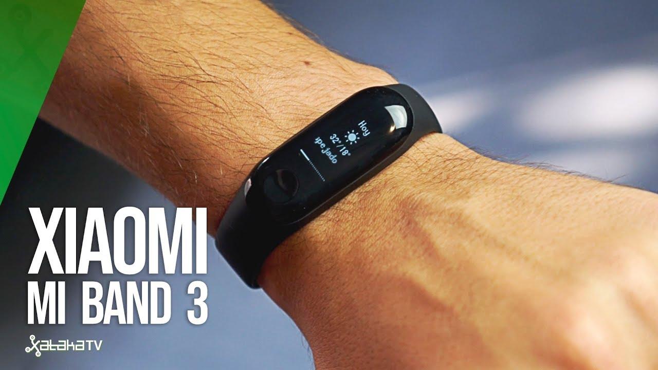Xiaomi Mi Band 3 - Pulsera de actividad, Pantalla 0 78'' full OLED táctil,  Notificaciones, Sumergible 50m, Mide calorías, pasos y sueño, Negro