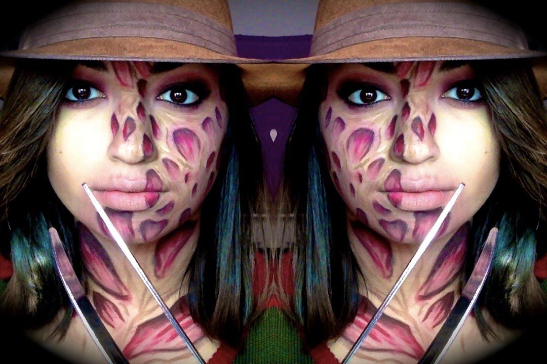 Freddy Krueger Makeup| Halloween| Nightmare on Elm Street ...