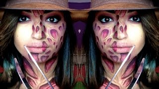 Freddy Krueger Makeup| Halloween| Nightmare on Elm Street| MakeUpEnPointe