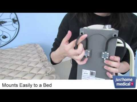 Just Home Medical: Med Aire Alternating Pressure Pump and Pad System