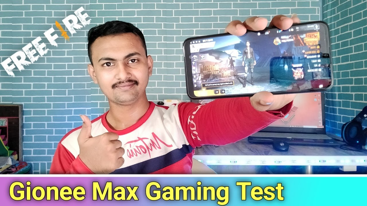 Free Fire Gaming Test In Gionee Max Smartphone In 2020 || Gionee Max Gaming Test In Hindi