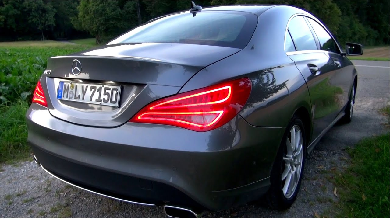 2014 Mercedes Cla 200 156 Hp Test Drive Youtube