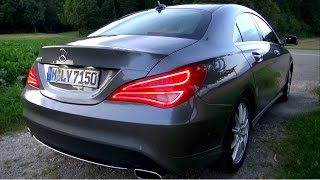 2014 Mercedes CLA 200 156 HP Test Drive