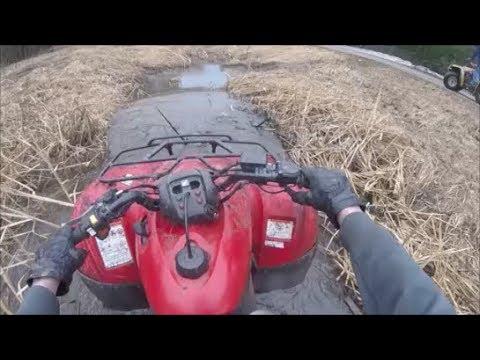 Honda Rancher 420 First Ride!