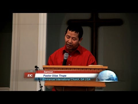 Pastor Silas Thapa : Blessings On Honoring the Men of God.