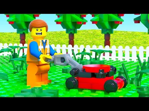 LEGO Movie 2 Lawn Mower Fail