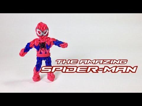 Rainbow Loom Avengers Series: The Amazing Spider-Man (UPDATED VERSION)