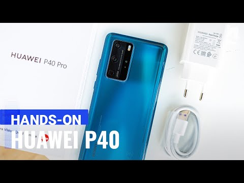 Huawei P40 hands-on