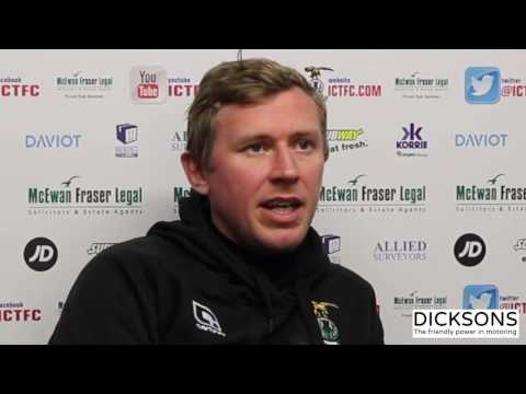 CaleyJagsTV : Richie Foran Match Preview v Hearts FC : 16/11/17