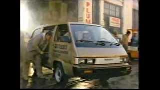 Video 1985 Toyota Van commercial. download MP3, 3GP, MP4, WEBM, AVI, FLV Juli 2018