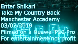 Enter Shikari - Take My Country Back (Rou Solo Version) - Manchester Academy 03/02/2019
