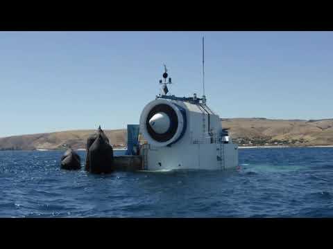 Safety alert: wave energy generator at Carrickalinga