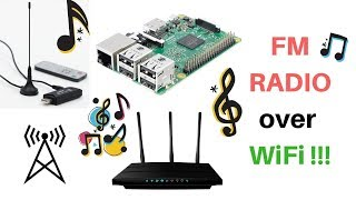 Raspberry Pi and RTL SDR Dongle: Stream LIVE radio over local network!