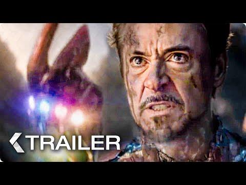 AVENGERS 4: Endgame Iron Man Snap Trailer (2019)