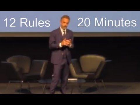 Kod kuponu Nowa kolekcja przed Sprzedaż Jordan Peterson - 12 Rules for Life in 20 Minutes