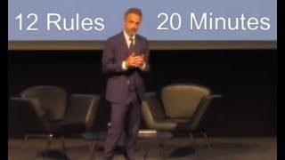 Jordan Peterson - 12 Rules for Life in 20 Minutes