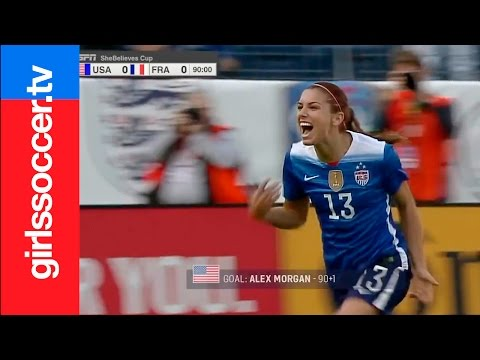 2016 WMNT  USA Women's Soccer  Top 10 Goals before the Rio Olympics