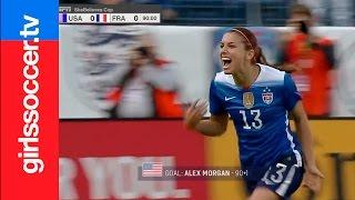 Video 2016 WMNT - USA Women's Soccer - Top 10 Goals before the Rio Olympics download MP3, 3GP, MP4, WEBM, AVI, FLV Januari 2018